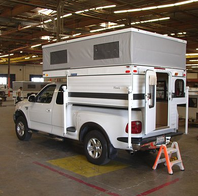 Pop-up truck camper shells » Camperize com