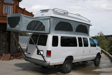 Own Poptop Build Shown Below And Documented On Expeditionportal From There Created His Company Doing Van Conversions