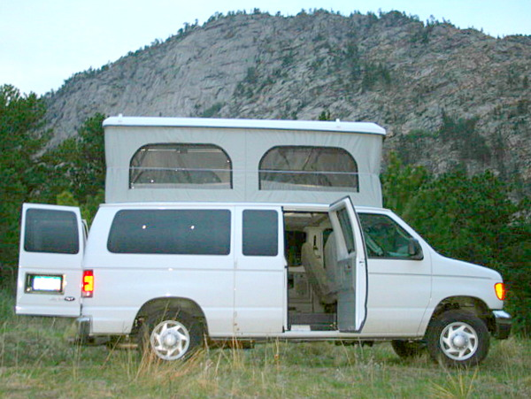 Colorado Campervan Ford Van Poptop