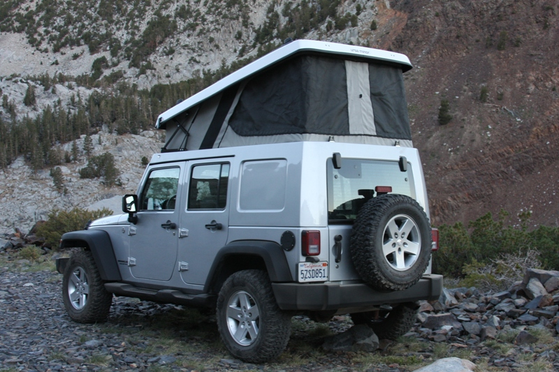 Ursa Minor Jeep C&er & Poptops » Camperize.com
